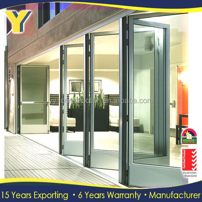 Plegadora puertas correderas de cristal utilizado ventanas - Puertas acristaladas exterior ...