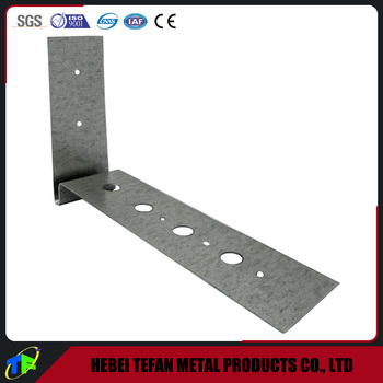 Customized Galvanized Steel Beam Soffit Tie Bracket