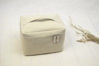 Demi 047 Wholesale Solid Color multilayer foldable fibre simple make up underwear home storage