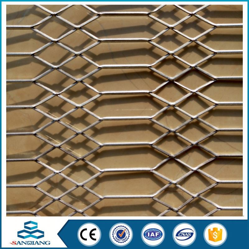 High Capability diamond pattern cells expanded metal mesh