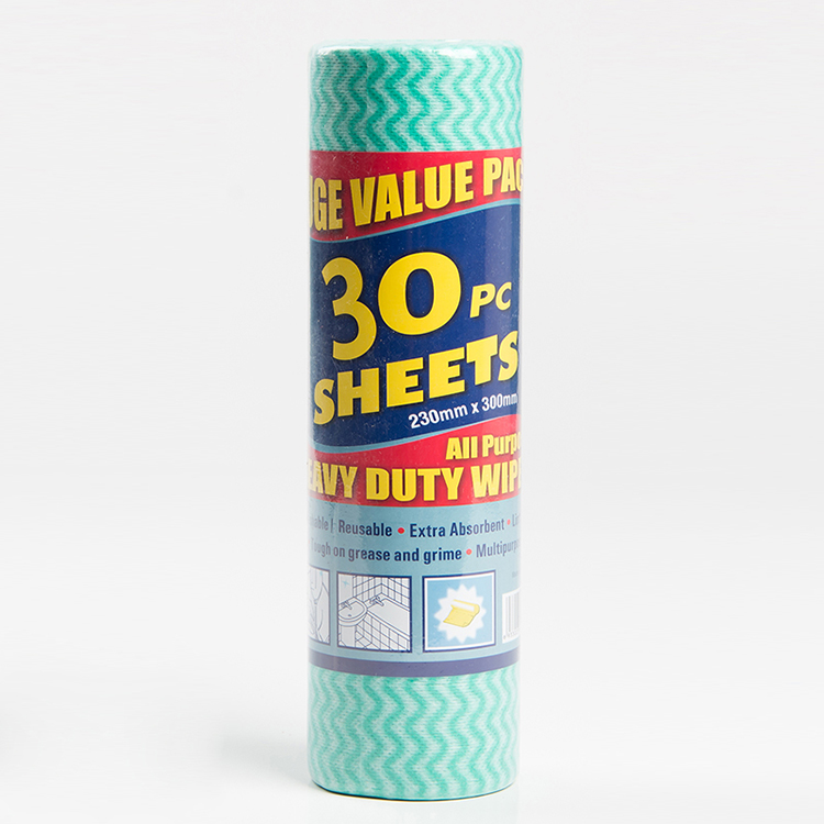 Multipurpose extra absorbent reusable spunlaced non woven fabric roll for cleaning