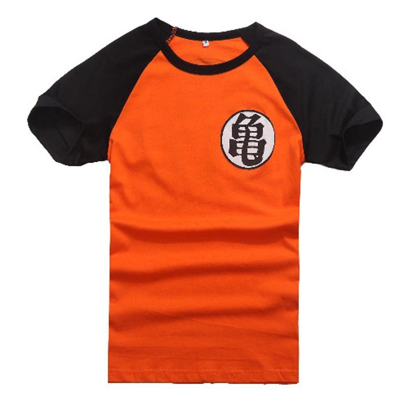 2fba3dfa0311 Get Quotations · Dragonball Z Son Goku Cosplay Summer Short Sleeve T-shirt  100% Cotton dragon ball