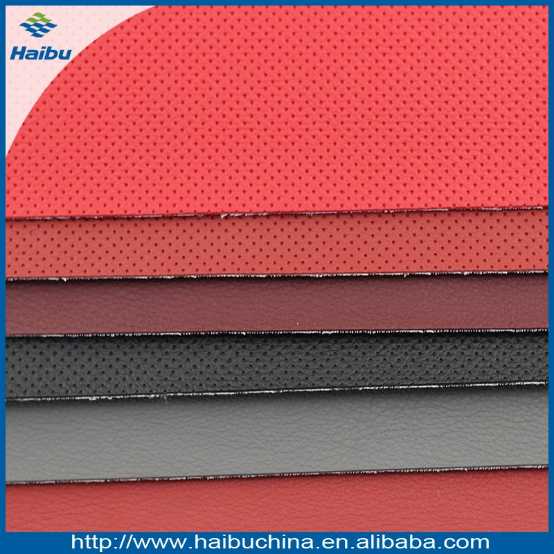 1.0mm imitation suede backing PU bonded artificial leather