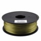 Metal filled 3D Printer Filament PLA ABS metal color filament wholesale 1.75mm 3.0mm