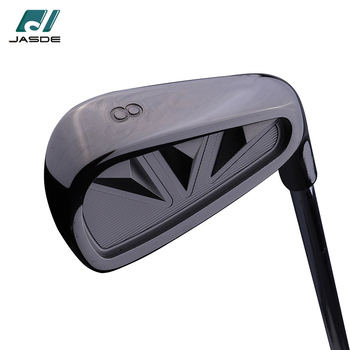 high quality right handed steel shaft black classic golf irons for sale
