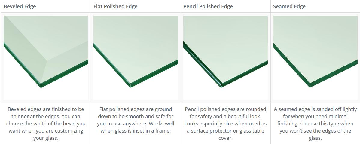Diseño personalizado 12mm 15mm 19mm vidrio templado mesa de comedor de vidrio/Mesa Redonda de vidrio superior