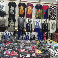 1.4USD Wholesale Assorted Colorful Ladies Summer Woman Clothes/Clothes Women/T Shirt Woman (gdzw120)