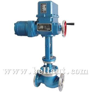 2 Inch PN16 Flange Water Flow Electric Control Valve Price