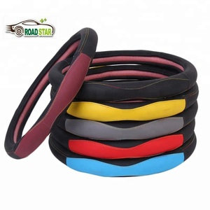 Hot selling cool steering wheel cover with multi-color