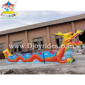 Best selling commercial amusement rides roller coaster sliding dragon