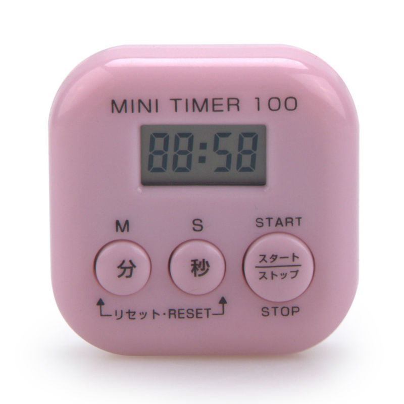PN-6006 Mini 100 min large LCD digital kitchen timer count down up