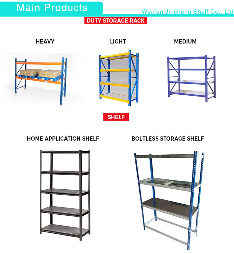 Multi-Purpose Light-Duty Warehouse Store Storage Rack Shelf