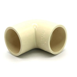 BS 4346 PVC Female Elbow UPVC Thread Fittings / UPVC Pipe Fittings