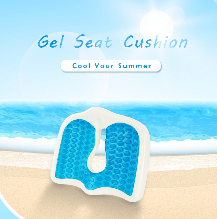 Patio Chair Seat Cushion Outdoor Gel Cooling Seat Cushion With Soft ...