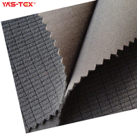 Textile Fabric Waterproof Stretch Polyester TPU Laminated Fabric For Sportswear Softshell