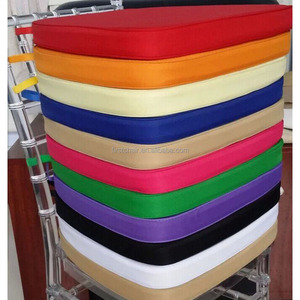 Competitive seat cushion stackable chiavari chair pad