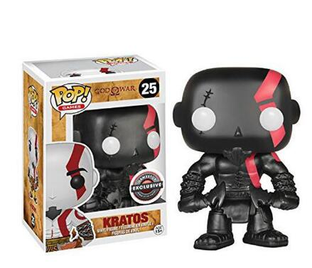 Hot God of War Kratos #25 Funko Pop PVC Action Figure High Quality God of War Kratos Figure Toys for Gift