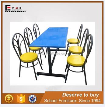 Modernen Quadratischen Esstisch Und Stuhl, Billiges Restaurant Tische  Stühle, Tisch Bank