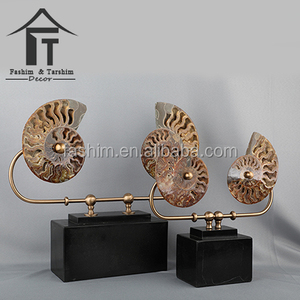 Home decor markets in china sculptures interiors fossil stand tabletop decor
