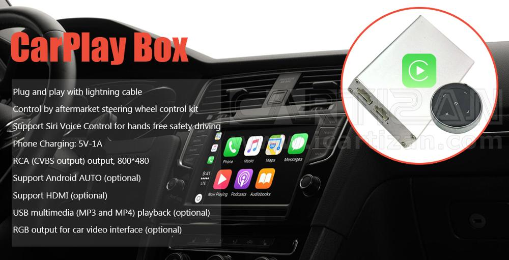 Aftermarket Apple Carplay Box For Any Car Monitor With Rca Input Buy Carplay Apple Carplay