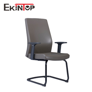 Leather plastic computer executive office chair specification without wheels
