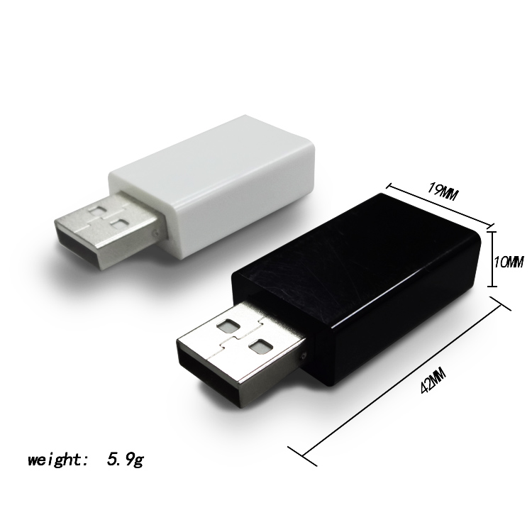 Amazon choose USB Universal Fast 1A Charge-Only Adapter for Android, Apple iOS, and Windows Mobile Devices USB Data Blocker, Can be customized