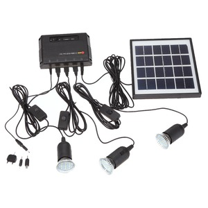 4W Solar Charging System LED Light USB 5V Mobile Phone Charger Garden Pathway Landscape Camping Fishing Outdoor Lighting