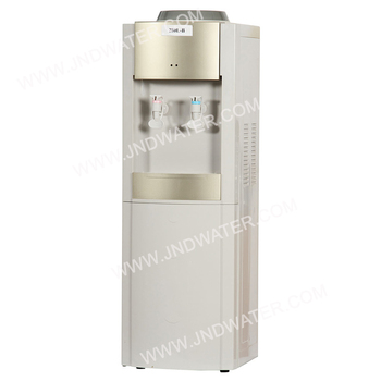 hot and cold water dispenser with mini fridge buy water. Black Bedroom Furniture Sets. Home Design Ideas