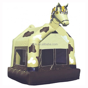 Hot sale Prancing Pony inflatable jumping bouncy castle/ bouncer jumper bounce house prices for kids