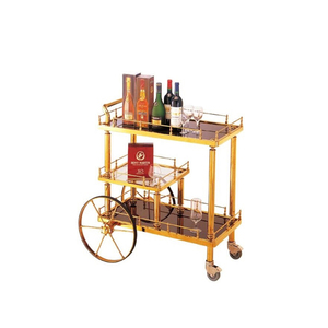 high quailty dining room trolley food serving trolley serving trolley cart