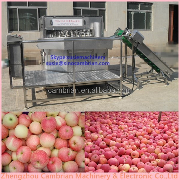 Commercial used apple peeling coring slicing machine on sale for smes