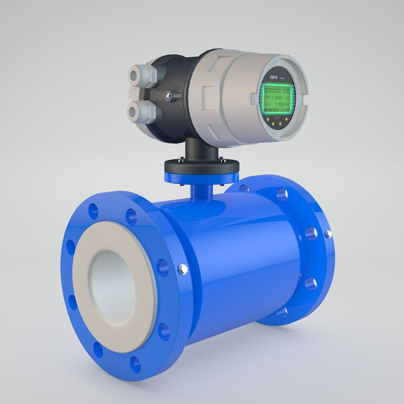 Integrated type 4-20mA output electromagnetic flowmeter