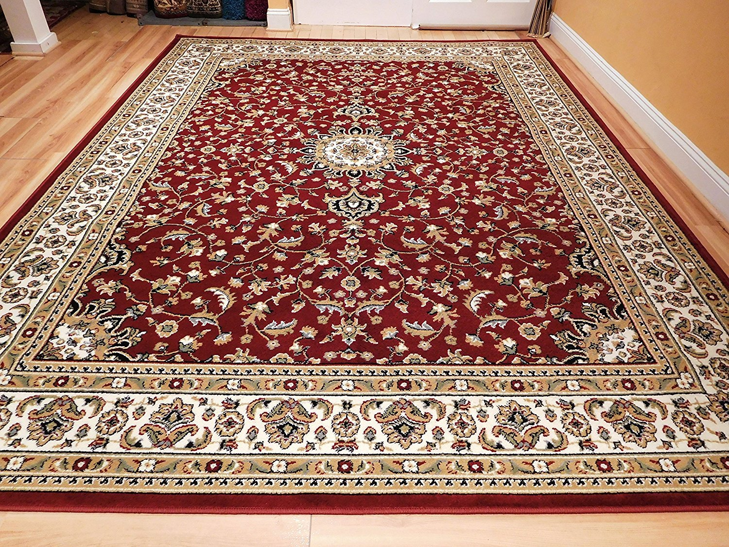 Get Quotations Small Rugs For Living Room 2x3 Traditional Area Red Front Door Mats Foyer Clearance