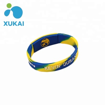 Promotional Custom Silicone Bracelets No Minimum Music Wristbands