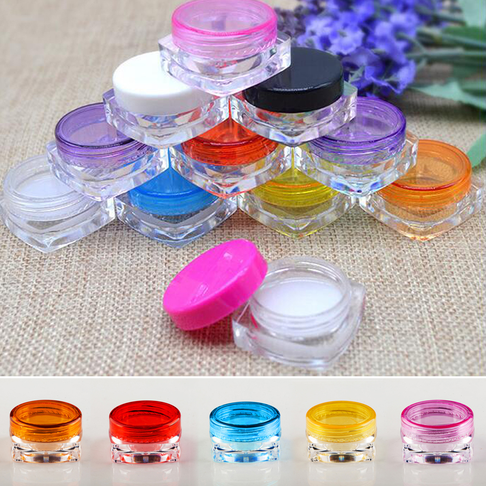 Makeup sample containers