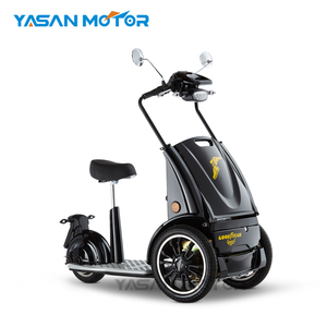 Fashion Hot Sale EEC New Design Three Wheel Electric Scooter with 800W Motor Folding Three Wheel Electric Scooter