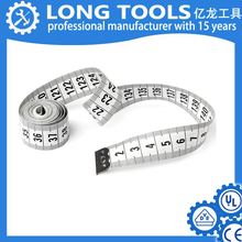 metric inch stainless 2m measuring customized fiberglass tape measure