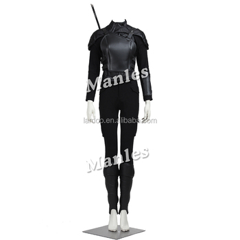 The Hunger Games Katniss Everdeen Cosplay Women Cool Costume for Christmas Halloween