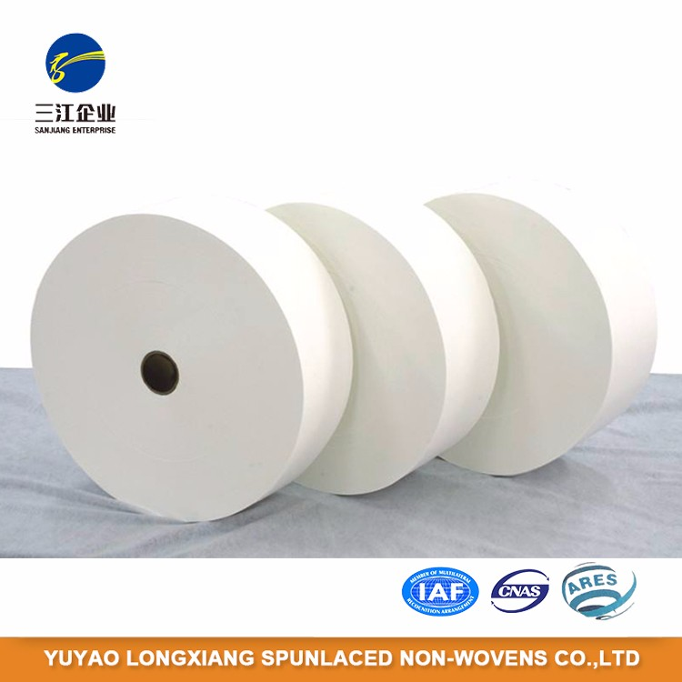 Factory Manufacture Various Spun Lace Nonwoven Wipe Fabric
