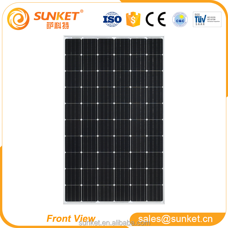 low-priced 4BB 260 w solar panel for farm/industrial/home use