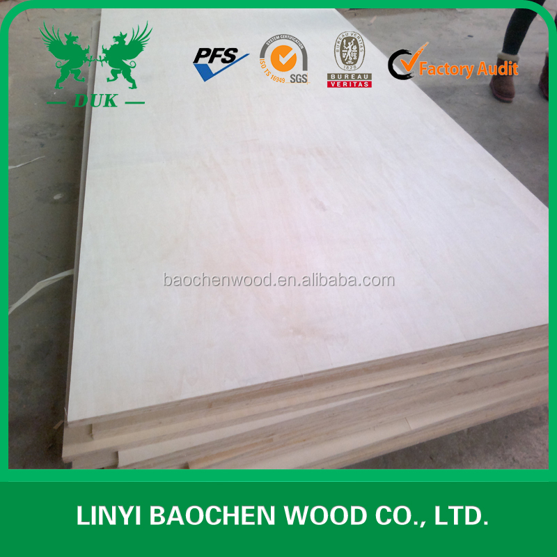 1220*2440 or 1220*1830 carb2 fancy all poplar plywood for furniture