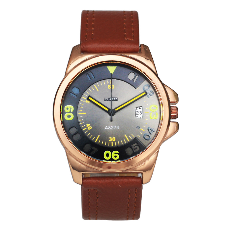 Superior Casual Mens Army Watches Leather Wrist Men Geneva Watch Bracelet Product On