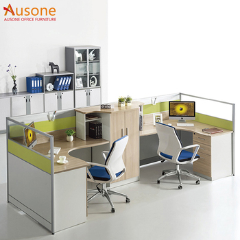 Promotion Office Furniture 2 Person Desk Modern For People Product On Alibaba
