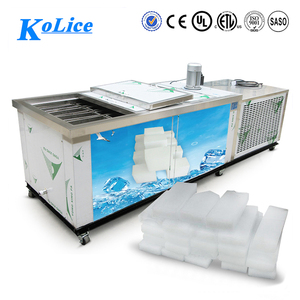 1 ton stainless steel big cube block ice plant