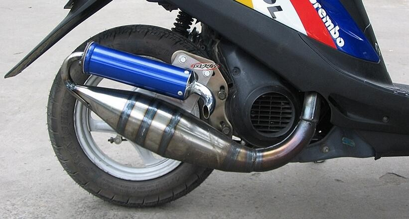 Jpm Jog50 Scooter Exhaust Pipe Jog Scooter Moped Performance Exhaust Pipe  50cc - Buy Exhaust Pipe For Jog50,Scooter Exhaust,Exhaust Pipe Scooter