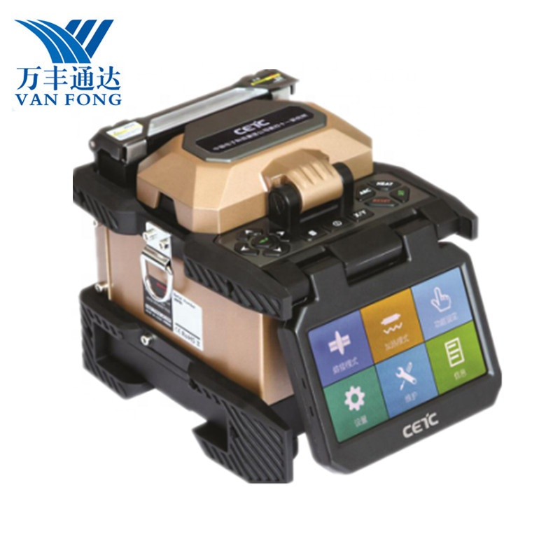 New Design Small Size Lightweight Core Alignment Ftth Fiber Optic Fusion Instrument Mfs T60 Splicer Single Fiber Fusion Splicer Dependable Performance Communication Equipments