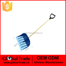 47*37cm Snow Shovel D-Type Handle Ideal for Driveways Car parks Patios Mucking out 150131