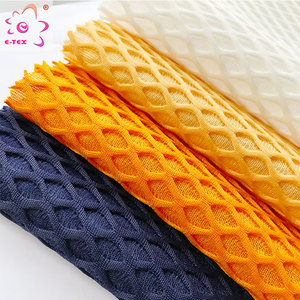 2018 New Fashion 100 polyester 3d air soft mesh fabrics for mattresses