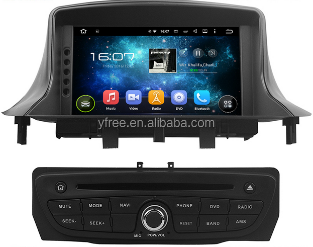 car sound system for renault scenic multimedia atv sound system for renault Megane 3 SCENIC