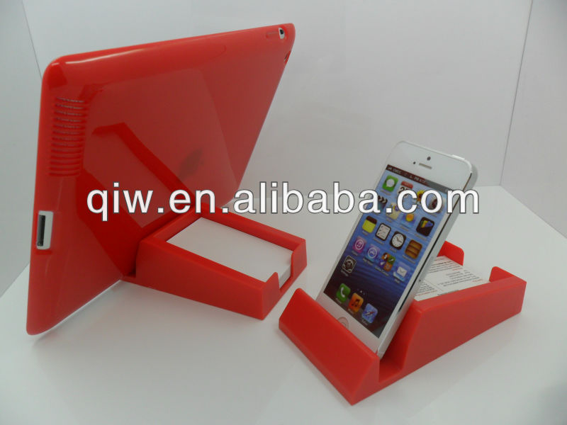 OEM plastic mobile stand holder for iphone/Sangsung/backberry